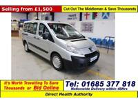 2009 - 59 - PEUGEOT EXPERT TEPEE COMFORT 1.6HDI 5 SEAT DISABLED ACCESS MPV BUS