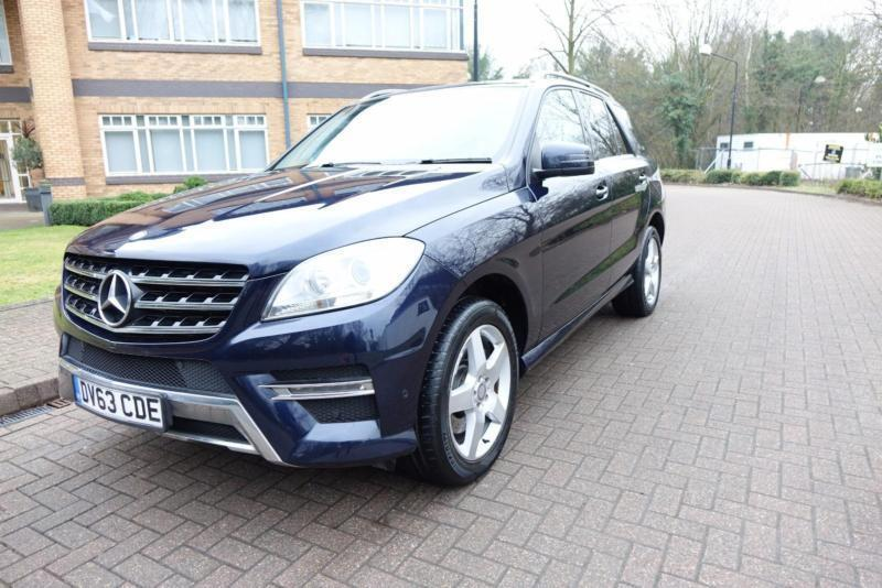 2013 Mercedes-Benz ML250 CDI ( 204bhp ) 7G-Tronic Bluetec Right Hand drive