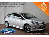 2013 Ford Focus 1.0 SCTi (125ps) EcoBoost Zetec S-BLUETOOTH-DAB-SERVICE HISTORY-