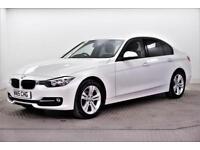 2015 BMW 3 Series 320D SPORT Diesel white Automatic