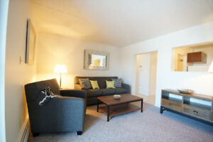 Beautiful 2 bedroom in quiet and clean building near Trout Lake
