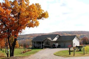 For Sale: 1425 sq. ft Country Home with Exceptional View