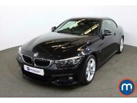 2019 BMW 4 Series 420d [190] M Sport 2dr Auto [Professional Media] Convertible D