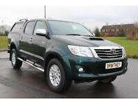 Toyota Hi-Lux 3.0D-4D Invincible 4x4 Diesel Truck D/c 63 Reg £14,895 + Vat