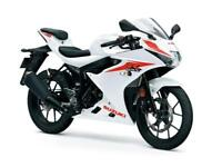 Suzuki GSXR 125AL8 LOW RATE FINANCE 3 APR £33 DEPOSIT
