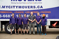 Professional moving services and delivery