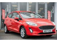 2017 Ford Fiesta 1.1 L Ti-VCT (Petrol) with Start/Stop Zetec 3dr 85PS Hatchback
