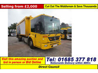 2008 - 08 - MERCEDES ECONIC 1824 BLUETEC 4 LABRIE KERBSIDER (GUIDE PRICE)