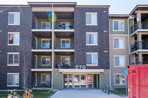 Immaculate 2 Bedroom Corner Unit in McConachie!