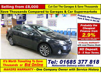 2014 - 64 - TOYOTA AVENSIS ICON 2.2D-CAT AUTOMATIC 4 DOOR SALOON (GUIDE PRICE)