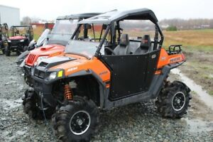 2010 Polaris Ranger RZR 800 S Orange Madness LE