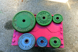 weights , York steel plate