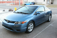 2006 Honda Civic LX Coupe (2 door) - LOW KMS! EVERYTHING WORKS!!