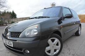 RENAULT CLIO EXTREME 1.5 DCI DIESEL 3 DOOR*FULL SERVICE HISTORY*LADY OWNED*