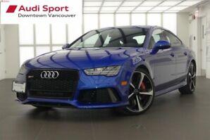 2017 Audi RS 7 4.0T quattro 8sp Tiptronic