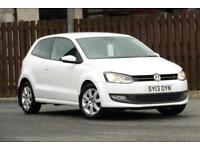 2013 VOLKSWAGEN POLO 1.2 MATCH EDITION 3DR HATCHBACK PETROL