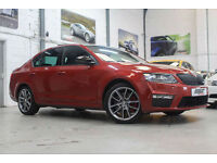 Skoda Octavia 2.0 TDI CR vRS, 14 Reg, 39k, Rio Red, Massive Spec, Pan Roof Etc..