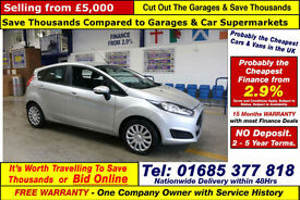 2013 - 63 - FORD FIESTA 1.3 TDCI STYLE 5 DOOR HATCHBACK (GUIDE PRICE)