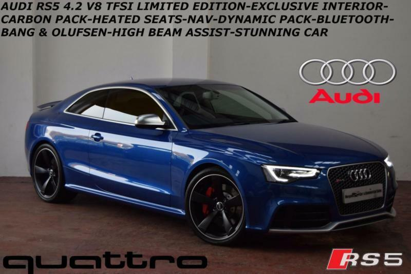 Oct 2015 Audi Rs5 4 2 Tfsi 450ps S Tronic Quattro
