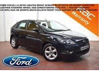 2010 Ford Focus 1.6 (100ps) Zetec-BLUETOOTH-HEATED SCREEN-S.H.-SUPERB CAR