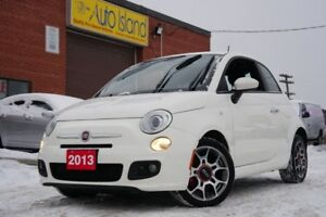 2013 Fiat 500 SPORT LEATHER ALLOYS