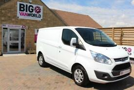 2014 FORD TRANSIT CUSTOM 290 TDCI 155 L1 H1 LIMITED SWB LOW ROOF VAN SWB DIESEL