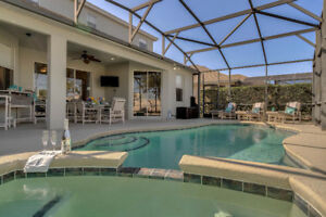 5 bedroom 5 bath 3200 sq feet with Theatre. 6 ⭐️! Awesome Pool!