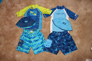 UV Skinz UPF 50+ Sun Protection Boys' 3-piece swimsuit