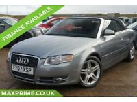 AUDI A4 2.0 TDI SPORT CONVERTIBLE 140BHP 2 OWNERS + FULL SERVICE HISTORY