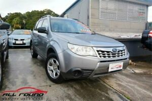 2011 Subaru Forester MY11 X Silver 4 Speed Auto Elec Sportshift Wagon Tweed Heads Tweed Heads Area Preview