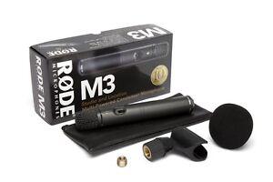 Rode M3 Audix micros en etat NEUF Audix NEUFS boites sceller.