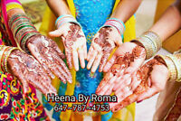 Henna Art-Mehndi @Your Required Henna Occasion- Misiga -Brampton