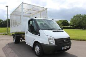 Ford Transit 2.2TDCi ( 100PS ) ( EU5 ) DRW Caged Tipper Diesel Truck