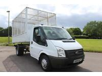 Ford Transit 2.2TDCi ( 100PS ) ( EU5 ) DRW Caged Tipper Diesel Truck