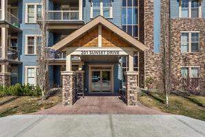 2 Bedroom Cochrane Condo with Beautiful Mountain Views
