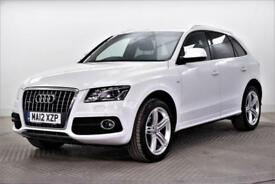 2012 Audi Q5 TDI QUATTRO S LINE PLUS Diesel white Manual