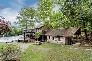 Waterfront Retreat with a Guest House - 1913 Island Rd., Severn