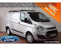 2013 Ford Transit Custom 2.2TDCi (125PS) 270 Trend-CRUISE-B.TOOTH-AUTO LIGHTS