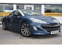 2010 60 PEUGEOT RCZ 1.6THP 156 SPORT GOOD AND BAD CREDIT CAR FINANCE AVAILABLE