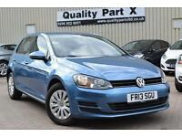 2013 Volkswagen Golf 1.4 TSI S Hatchback DSG 5dr (start/stop)