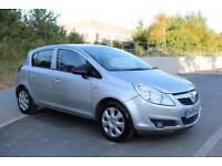 Vauxhall/Opel Corsa 1.2i 16v ( a/c ) 2009MY Club 5DOORS SILVER CHEAP ROAD TAX