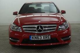 2013 Mercedes-Benz C Class C250 CDI BLUEEFFICIENCY AMG SPORT Diesel red Automati