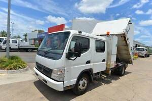MITSUBISHI CANTER 7/800 ** DUALCAB ** TIPPER ** #4968 Archerfield Brisbane South West Preview