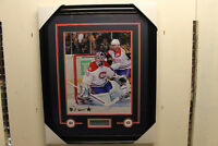 Carey Price signed autograph Montreal Canadiens frame