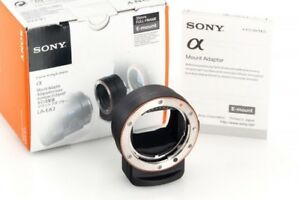 Mint Sony LA-EA3 Adapter for A-Mount Lens to E-Mount Full-frame