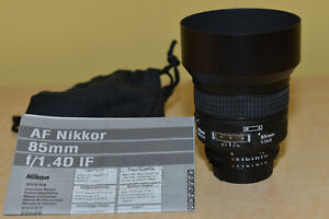 Objectif Nikon   AF Nikkor 85mm f/1.4D IF