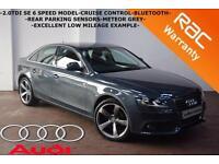 2008 Audi A4 2.0TDI 143bhp SE-ONLY 71K-CRUISE CONTROL-PARKING SENSORS-