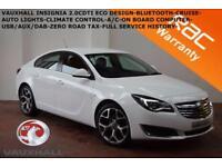 2014 Vauxhall/Opel Insignia 2.0CDTi (120ps) ecoFLEX (s/s) Design-1 X OWNER-F.S.H