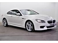 2013 BMW 6 Series 640D M SPORT Diesel white Automatic