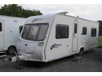 Bailey Pageant Burgundy Series 6 2008 4 Berth Fixed Bed Caravan + Motor Movers